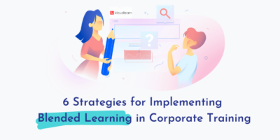 Employees implementing Blended Learning for Training